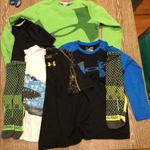 7 pc boys clothing lot sz 8-10